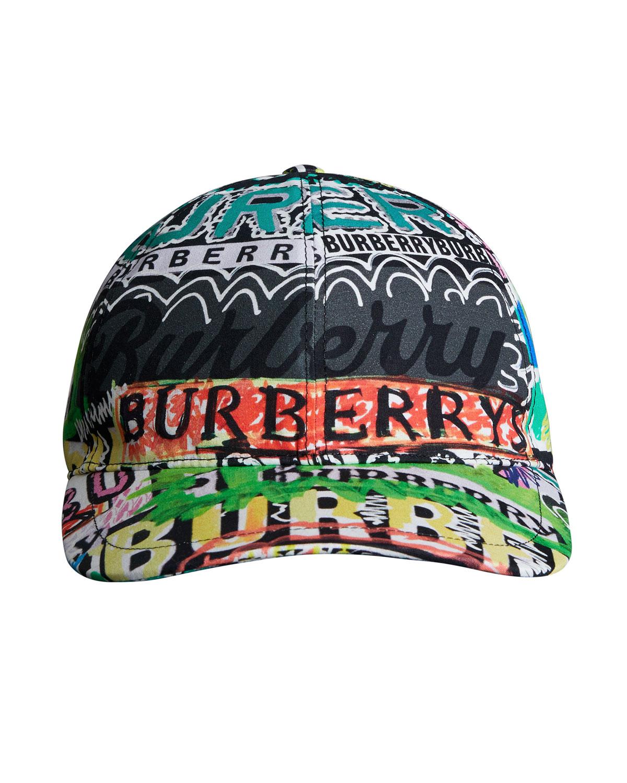 f15b2cb6b3b Burberry Archive Logo Baseball Cap