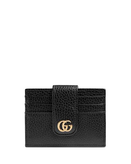 Gucci Petite Marmont Snap Card Case