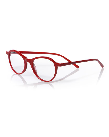 EYEBOBS Barbee Q Butterfly Acetate Reading Glasses in Red