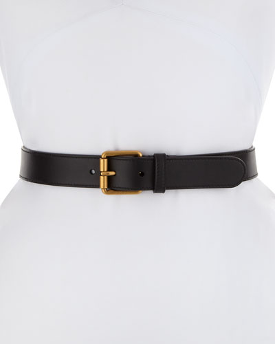 Belt for Women On Sale, Pink, Leather, 2017, Small Medium Large B-Low The Belt