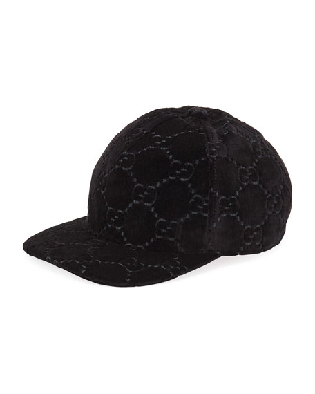 GG SUPREME VELVET BASEBALL HAT