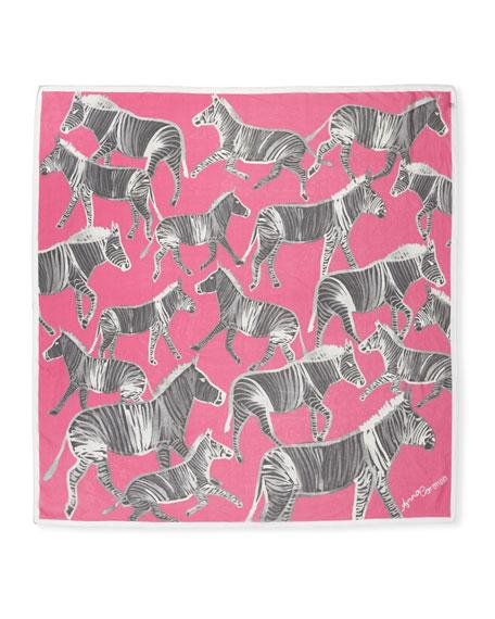 Silk Zebras Scarf