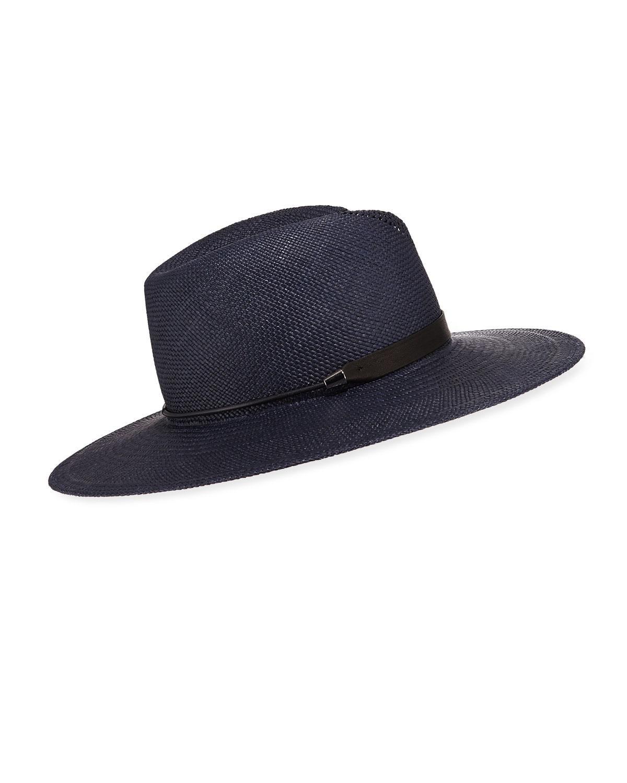Rag   Bone Zoe Straw Fedora Hat  f2a78a99f280