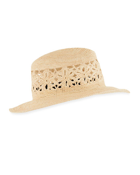 Wonderlust Packable Straw Hat