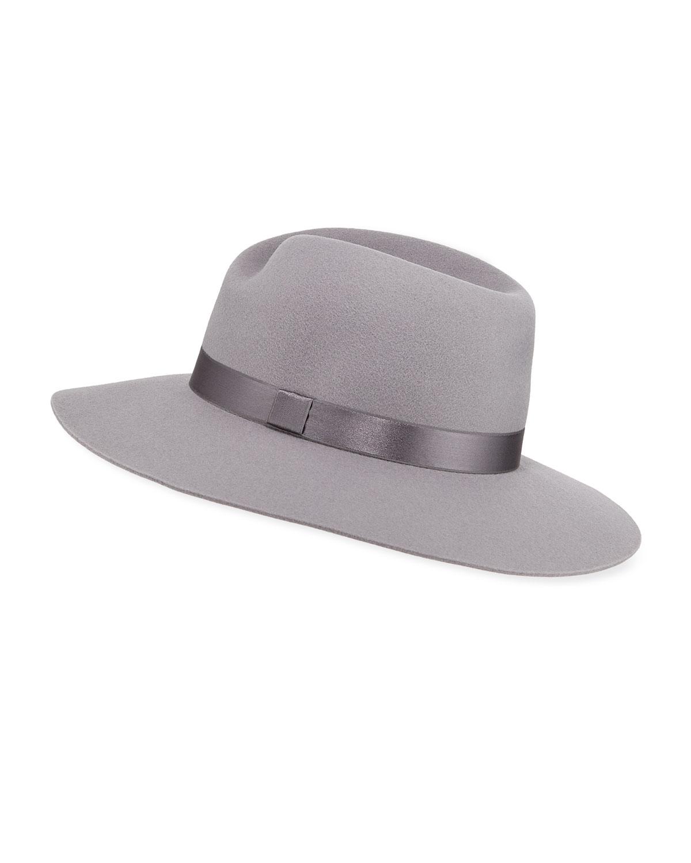 2fc1b856bd73e Rag   Bone Zoe Wool Fedora Hat