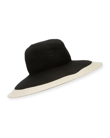 Kokin New Look Gangster Two-Tone Fedora Hat