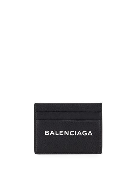 BALENCIAGA EVERYDAY LOGO CARD CASE