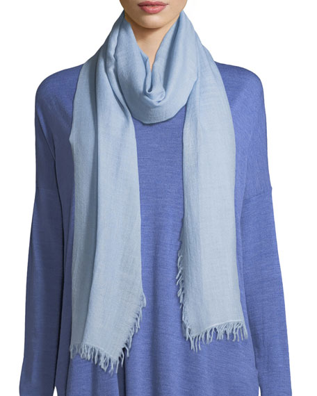 Wool-Silk Ombre Scarf