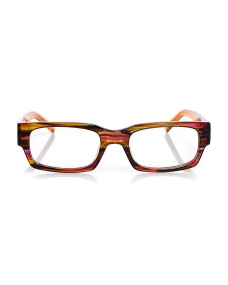 Peckerhead Rectangle Acetate Reading Glasses