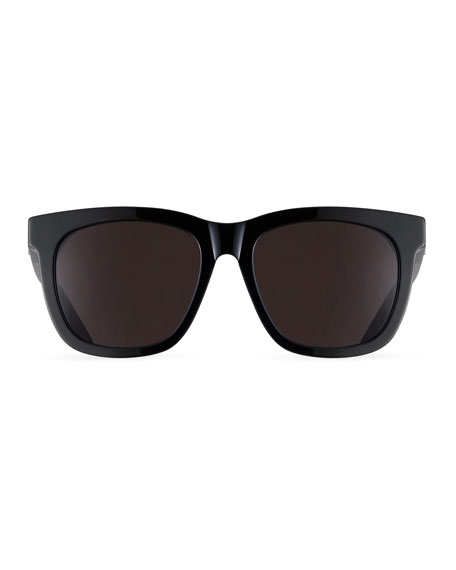 SL M24K Oversize Square Acetate Sunglasses