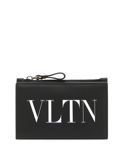 VLTN Logo Coin Purse/Card Case