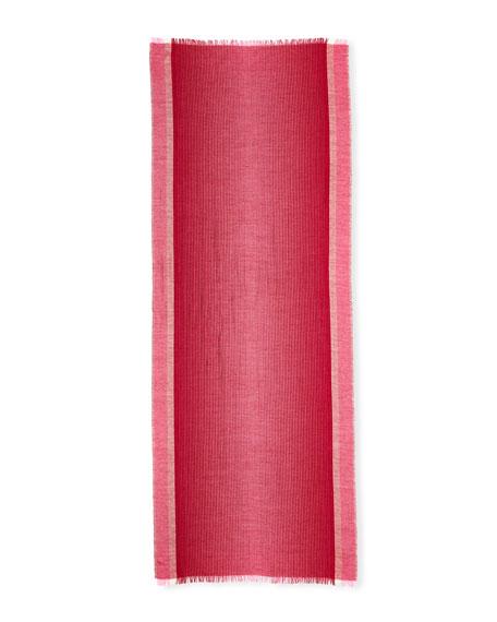 Ombre Stripe Alpaca/Silk Scarf