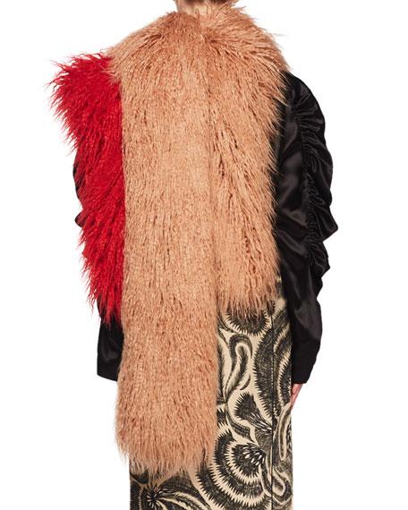 Feltre Shaggy Faux-Fur Scarf