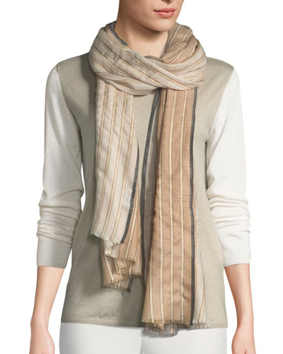 Amour Striped Stole
