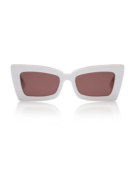 Zaap Cat-Eye Acetate Sunglasses