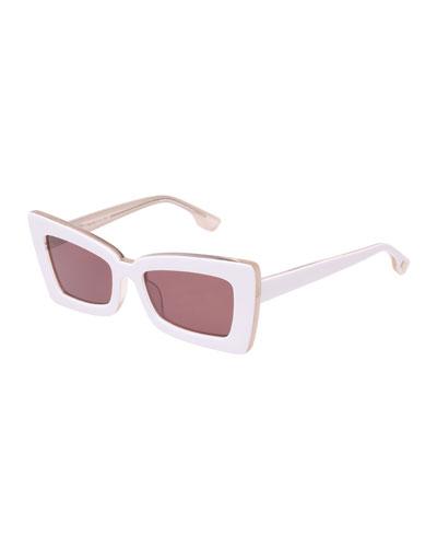 Zaap Cat-Eye Acetate Sunglasses