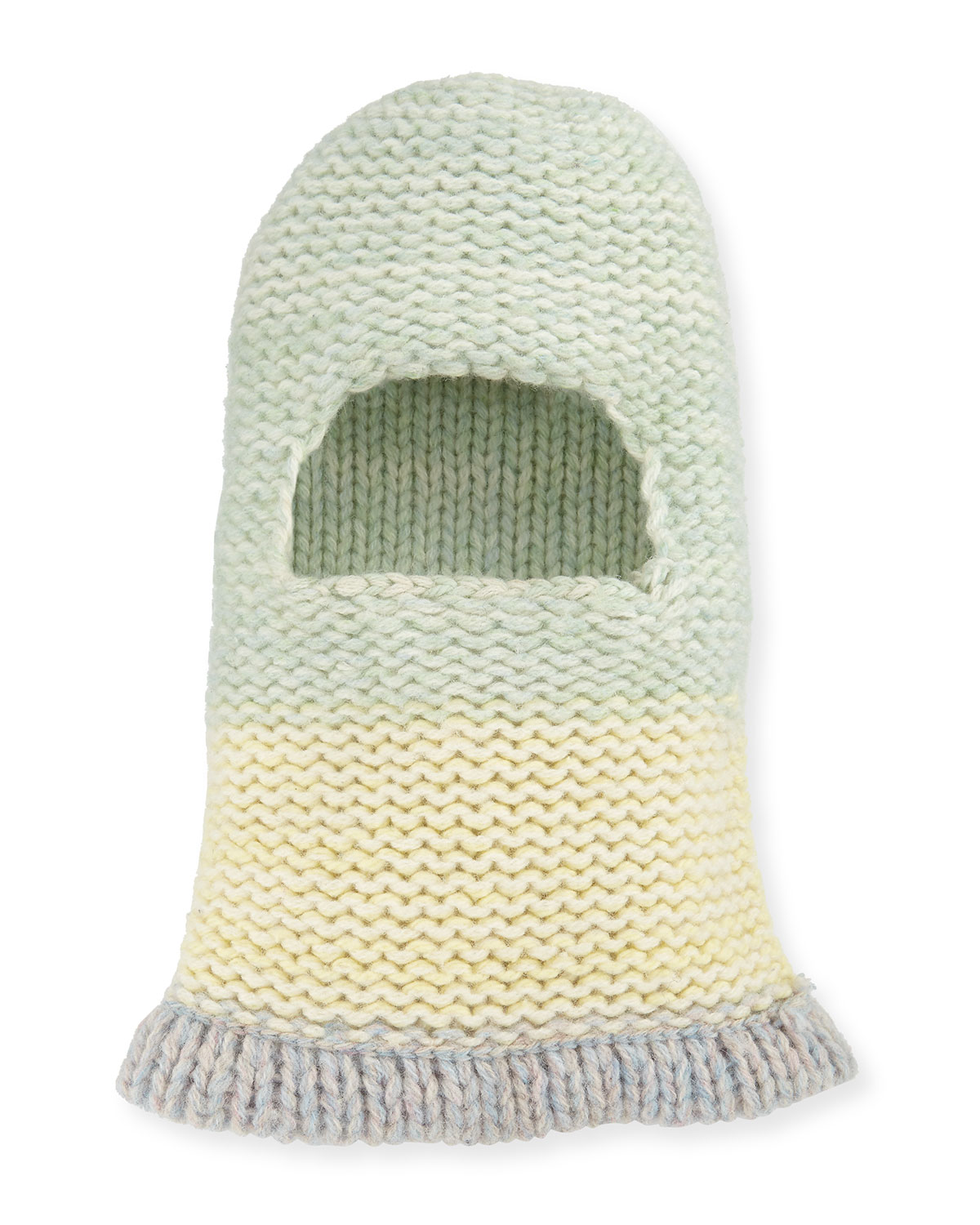 Balaclava Fitted Knit Hood