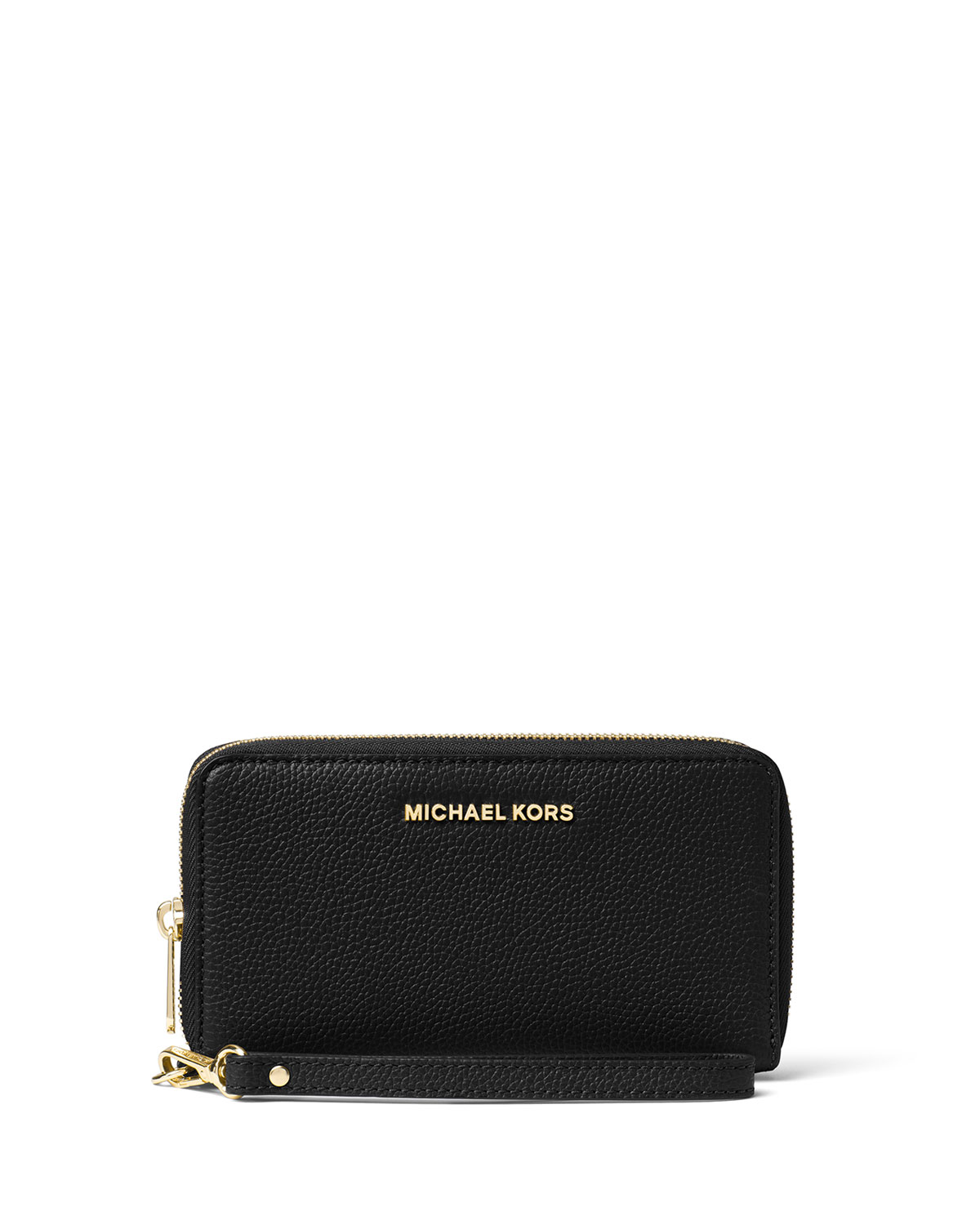 d9a428dc699d MICHAEL Michael Kors Mercer Large Flat Multifunction Leather Wristlet Phone  Wallet