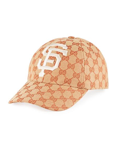 Gucci SF Giants GG Supreme Baseball Hat