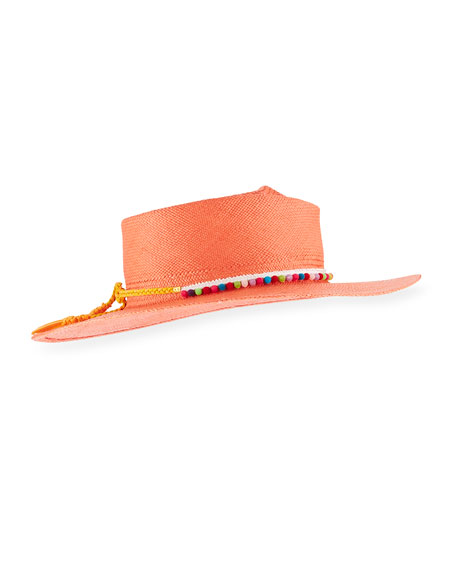 Gladys Tamez Camilla Panama Hat