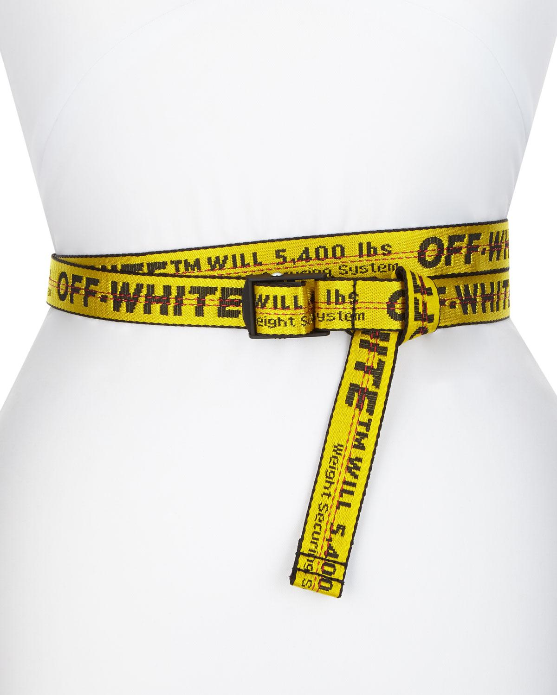 Off-White Mini Industrial Web Belt