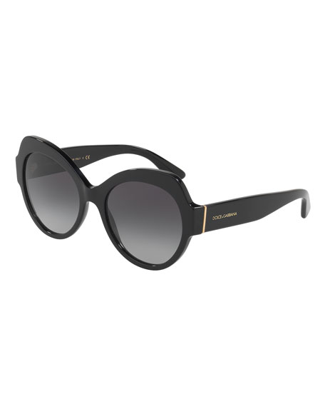 Dolce & Gabbana Butterfly Gradient Sunglasses