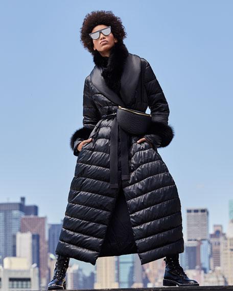 Max Mara Here is the Cube Collection Susanna Detachable Fur Cuffs