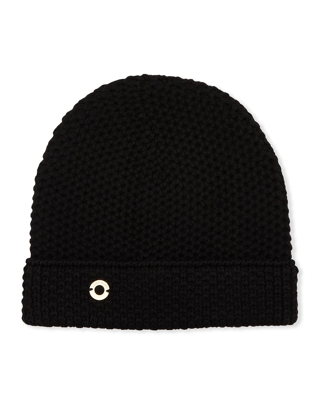 e7b861e8e32 Loro Piana Rougement Chain-Knit Cashmere Beanie Hat