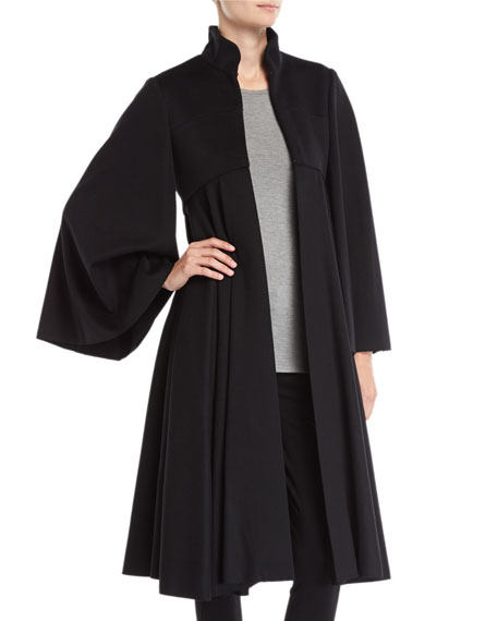 Burberry Tailored Doeskin Wool Cape
