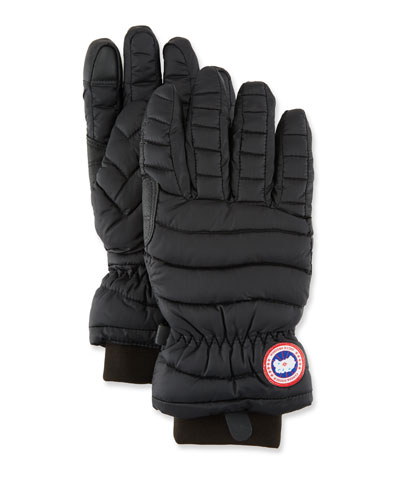 Lightweight Quilted Down-Filled Gloves