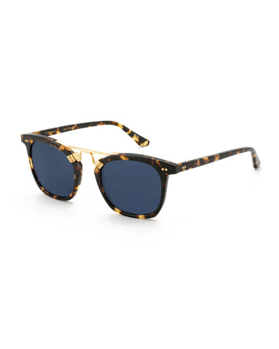 Lafayette Polarized Acetate & Metal Sunglasses