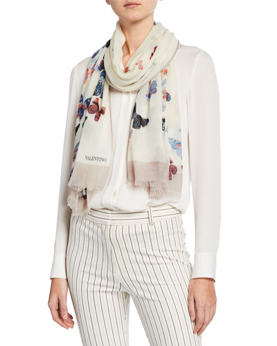 Cashmere Butterfly Stole