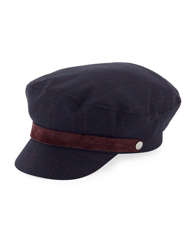 Check Fisherman Cap