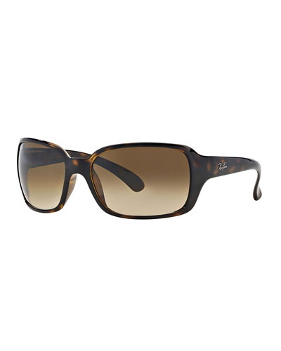 Square Gradient Propionate Sunglasses