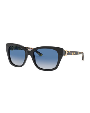 8d48cce5c2d Tory Burch Gradient Acetate Cat-Eye Sunglasses