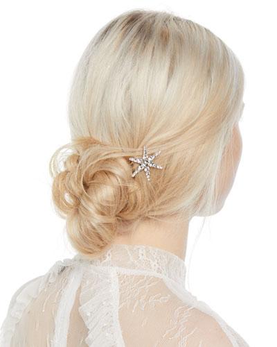 Estelle Swarovski Crystal Star Hairpin
