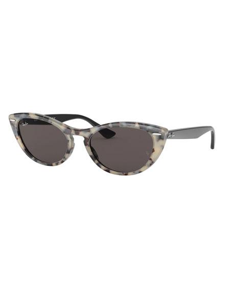 Ray-Ban Cat-Eye Monochromatic Sunglasses