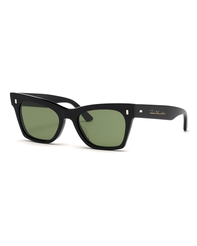 d3a7519ac9 Celine Acetate Cat-Eye Sunglasses