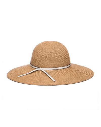 Honey Packable Sun Hat w/ Grosgrain Band