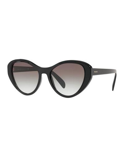 Gradient Cat-Eye Sunglasses