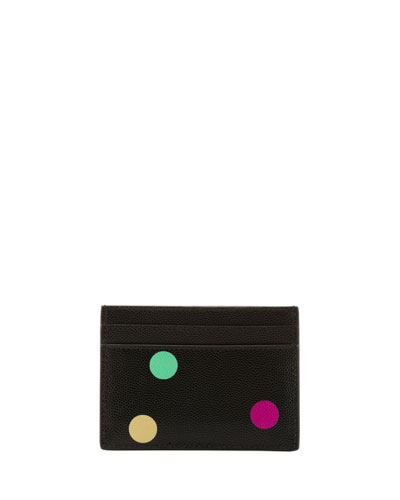 Polka-Dot Flat Card Case