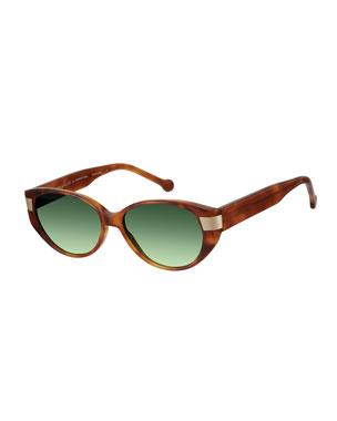 610f8c15d4c Colors In Optics South Beach Gradient Cat-Eye Sunglasses