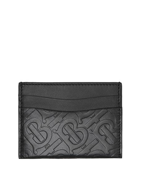 Burberry Cases Sandon Logo Leather Card Case