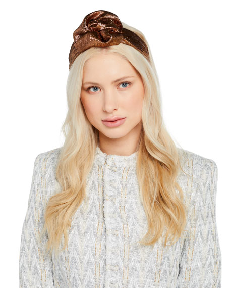 Jennifer Behr Accessories ROSAMUND METALLIC HEADBAND