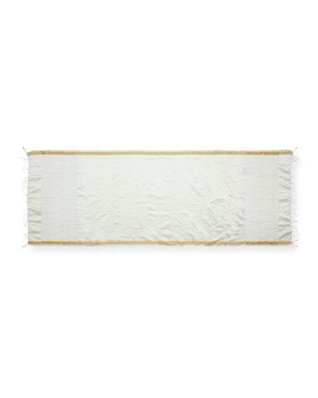 Eileen Fisher Handloom Gauzy Silk Wrap