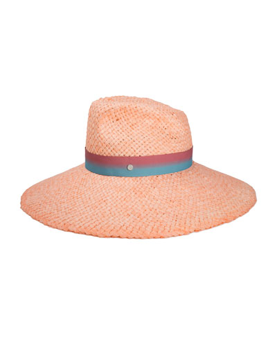 Big Bettina Large Brim Woven Sun Hat