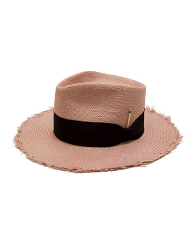 Exuma Straw Fedora Hat