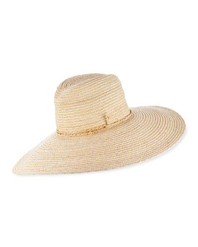 Jolly Rancher Raffia Sun Hat