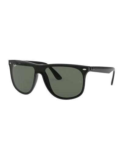 Monochromatic Square Sunglasses