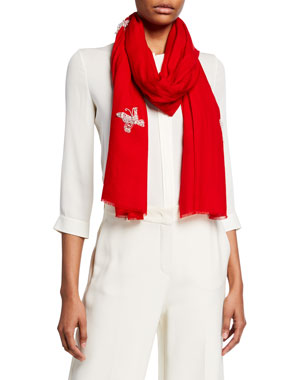 37437431 Designer Scarves & Wraps for Women at Neiman Marcus